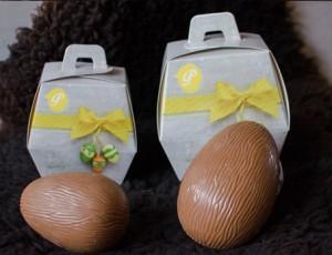 Heerlijk pasen ei-doos